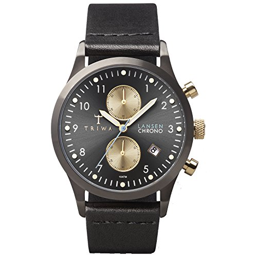 Triwa Walter Lansen Chrono Watch Black LCST101.CL01
