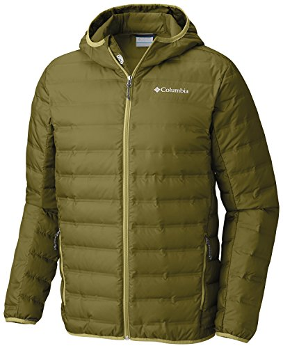 Columbia Lake 22Down Hooded Jacket Piumino Uomo Mossy Green