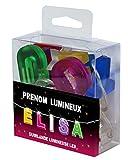 Guirlande Lumineuse ELISA- Veilleuse ELISA - Guirlande lumineuse LED 100 % personnalisée prénom