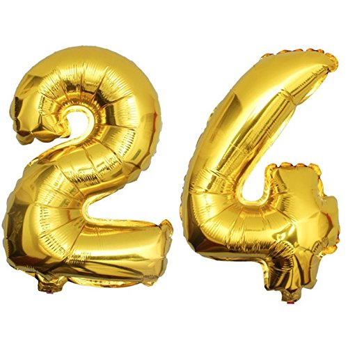 Folienballon zahlenballon regalo cumpleaños globo plata 80cm número 21