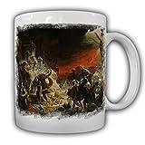 Pompeji Untergang Gemälde Bild Kunst Der letzte Tag von Pompeji Katastrophe Vulkanausbruch - Tasse Kaffee Becher #17915
