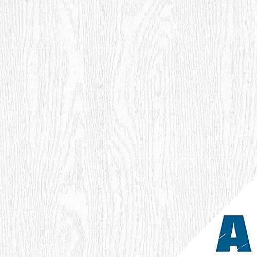 Artesive WD-056 Frassino Bianco Assoluto larg. 30 cm AL METRO LINEARE - Pellicola Adesiva in vinile effetto legno per interni per rinnovare mobili, porte e oggetti di casa