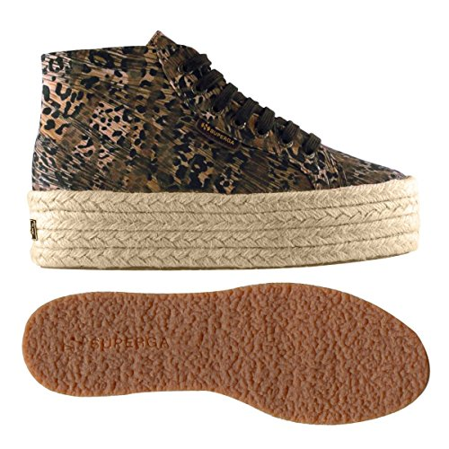 Chaussures Dame - 2212-fabricfanplropew ANIMAL BROWN