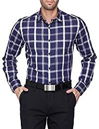 STOP to start Stop by Shoppers Stop Mens Regular Collar Check Shirt