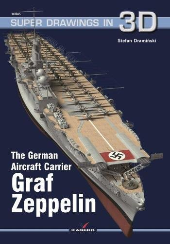 The German Aircraft Carrier Graf Zeppelin (Super Drawings in 3D) por Carlo Cestra