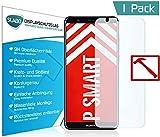 Slabo Lámina de Vidrio Premium Huawei P Smart Lámina Protectora Protector de Pantalla Templado (Protector de Pantalla reducido, a Causa de la Pantalla Curvada) Tempered Glass Claro - dureza 9H