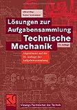 Image de Lösungen zur Aufgabensammlung Technische Mechanik (Viewegs Fachbücher der Technik)