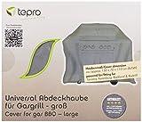 Tepro Universal Grillabdeckhaube für Gasgrill, groß, anthrazit, 70 x 150 x 110 cm, 8405