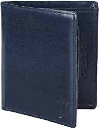 Creature Bi-Fold Blue Color Faux-Leather Wallet For Men/Boys With Multiple Card Slots(Color-Blue  WL-048)