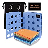 Shard Global Clothes Folder, T-shirt Folding Board for Shirts and Trousers, Adjustable Adult