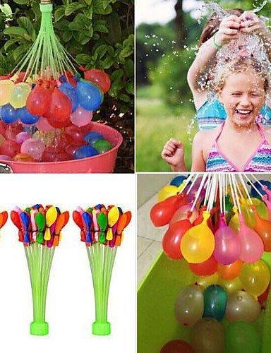 Wasserbomben Strauß - 4 x 37 Ballons auf einmal