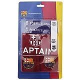 Fußball-Sport-Set mit Armbinde und Schweißbänder, Motiv FC Barcelona
