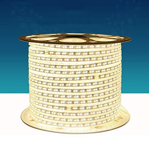 30 Cove Beleuchtung (Mogicry Tricolor Dimming Haushaltsatmosphäre Streifen Licht Wohnzimmer Innenfarbe Regendicht Business Illumination Deckenverkleidung Umgebungslicht Außen Geführte Energiesparende Cove Licht)