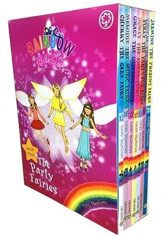 Rainbow Magic - Series 3 - The Party Fairies Collection 7 Books Box Set (Book 15-21)