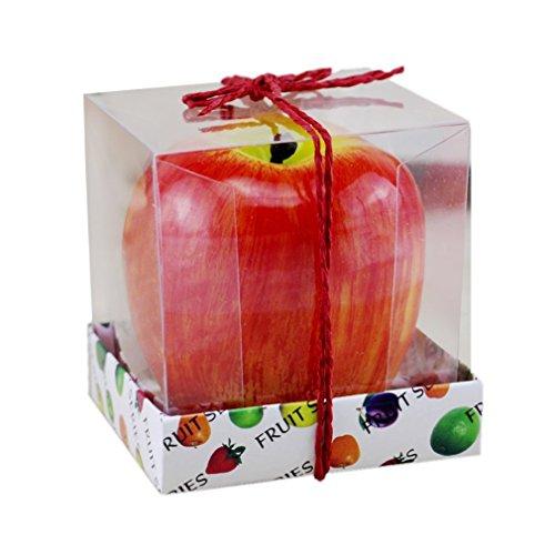 Vvciic forma piccola simulazione di apple candela sveglio bello della frutta di disegno candela profumata per la decorazione domestica