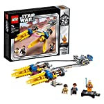 LEGO StarWars SgusciodiAnakin–Edizione20°Anniversario, Minifigure da Collezione con Luke Skywalker, Collezione La minaccia Fantasma , 75258 LEGO