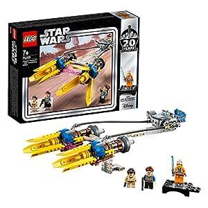 LEGO StarWars SgusciodiAnakin–Edizione20°Anniversario, Minifigure da Collezione con Luke Skywalker, Collezione La minaccia fantasma , 75258 LEGO Star Wars LEGO