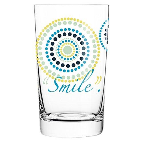 Ritzenhoff 3270001 Everyday Darling Design Softdrink-/Wasser-/Trink Glas, Sandra Brandhofer, Frühjahr 2015
