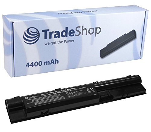 TradeShop Premium Li-Ion Akku 10,8V/11,1V / 4400mah für HP Probook 440-G0 445-G0 450-G0 455-G0 470-G0 440-G1 445-G1 450-G1 455-G1 470-G1 ElitePad 900 G1 707616-141 707616-851 707617-421 708457-001 708458-001 707616-242 FP06 FP09 H6L26AA H6L27AA HSTNN-IB4J