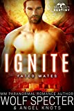 Front cover for the book Ignite: M/M Gay Shifter Mpreg Romance (Dragon's Destiny: Fated Mates Book 3) by Wolf Specter