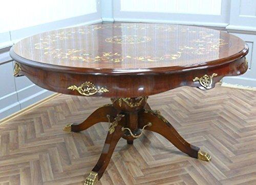 Table ronde baroque style rococo d'époque Louis XV MoTa0590
