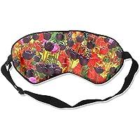Sleep Eye Mask Colorful Flowers Lightweight Soft Blindfold Adjustable Head Strap Eyeshade Travel Eyepatch E7 preisvergleich bei billige-tabletten.eu