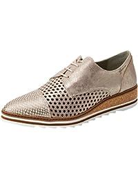 Dorking Viola, Zapatos de Cordones Oxford para Mujer, Marrón (Brown), 41 EU