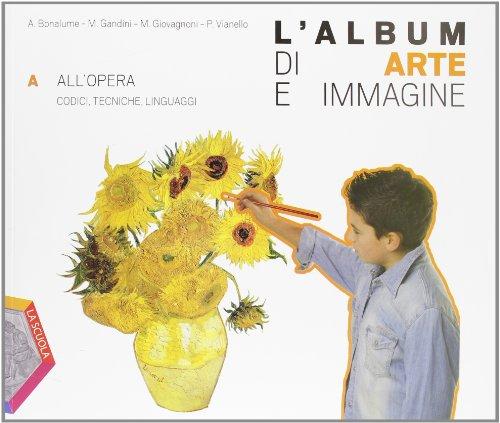 L'album di arte e immagine. Per la Scuola media. Con CD-ROM. Con espansione online: 1