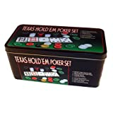 #10: Go Hooked Texas Hold'Em Poker Set | Casino Game | Poker chips game set