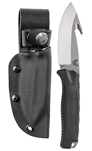 Benchmade Hunt Steep Mountain Fixed Blade Gut Hook Steep Country Schwarz (S30v Klinge Schwarz)