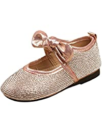 7ebbb3a32728 Boomboom Baby Shoes Toddler Little Girls Rhinestone Mary Jane Slip-on  Ballerina Flat Shoes