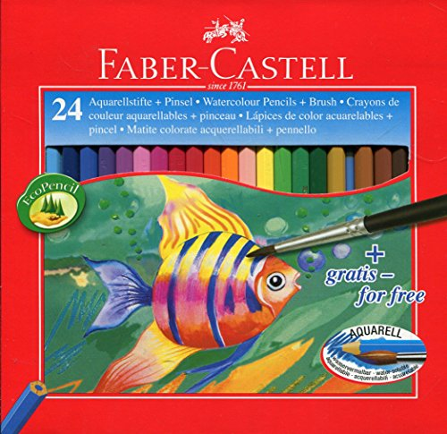 Faber castell cf24matite colorate acquerellabili