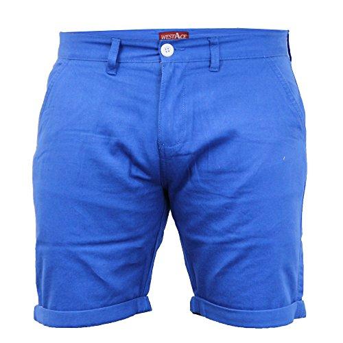 Herren Chino Shorts By Threadbare Königsblau