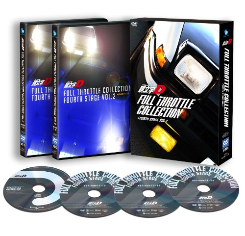 Initial d Full Throttle Collec [DVD-AUDIO]