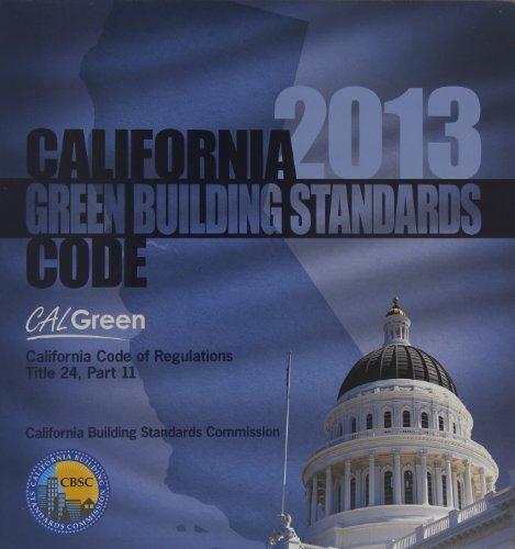 2013 California Green Building Standards Code, Title 24 Part 11 (2013 Gebäude-codes)