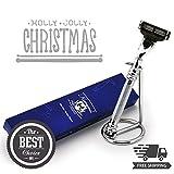 Edelstahl Gillette Mach3kompatibel Ständer für Rasierer und Rasierer–PREMIUM SELECTION für die Shaving Gentleman–Perfekt für Nassrasur–Ideal als Geschenk