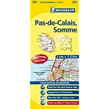 Carte DPARTEMENTS Pas-de-Calais, Somme