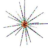 FDL étoile effet feu d'artifice avec 100 cm/ic contrôleur 38682 multicolore