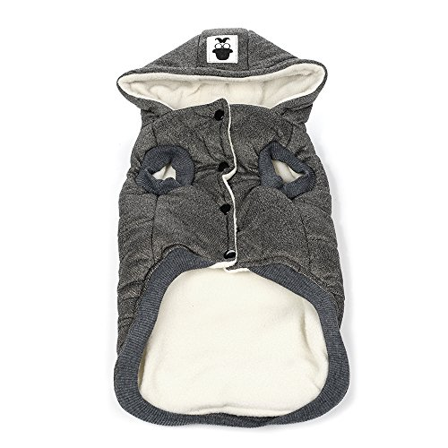 Minion Kostüm Xxl Hunde - ACORRA Haustier Hund Winter Kostüm, Weiche Bequeme Mode Hohe Qualität Warm Doggy Puppy Kleidung Hund Kleidung Outfit - Grau/XXL