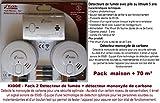 Kidde Pack detectores de Humo + Detector Monoxide de Carbono