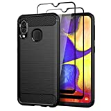 Teayoha Case for Samsung Galaxy A20e, with Tempered Glass