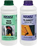 Nikwax Tech Wach an TX. Direct Wash-In (Pack of 2)