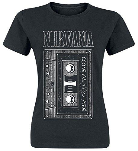 Nirvana As You Are Tape Maglia donna nero S