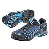 Puma Safety Shoes Fuse Motion Blue Wns Low S1 HRO, Puma 642820-256 Damen Sicherheitsschuhe, Schwarz (schwarz/blau 256), EU 35