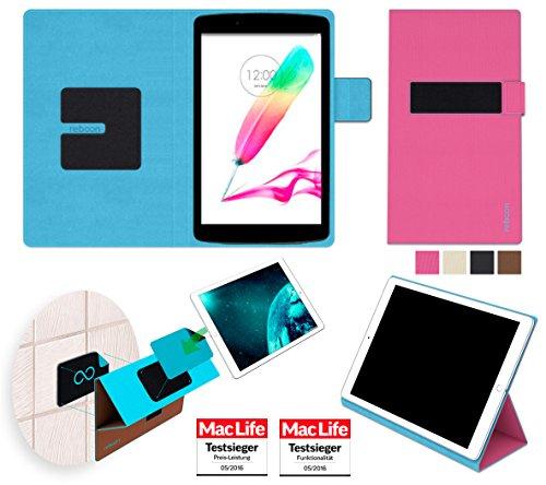 reboon Hülle für LG G Pad II 8.0 Tasche Cover Case Bumper | in Pink | Testsieger
