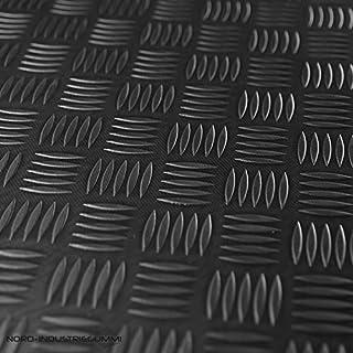 3m² Riffelblechmatte 1,40m x 2,15m | Stärke: 3mm | Premium Gummimatte