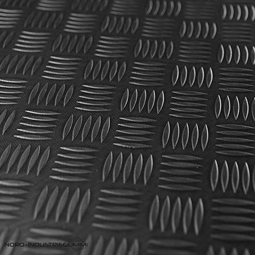 4m² Riffelblechmatte 1,50m x 2,67m | Stärke: 3mm | Premium Gummimatte