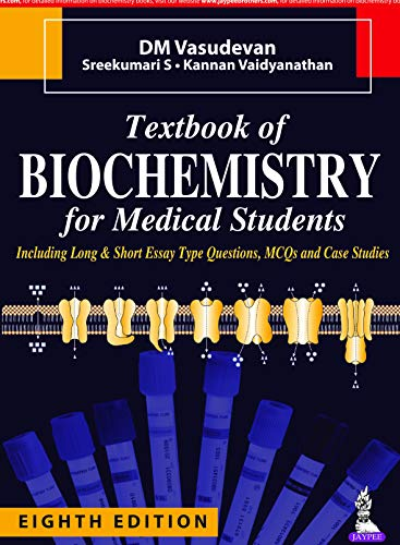 Textbook of Biochemistry for Medical Students (English Edition)