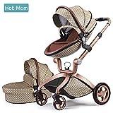 Hot Mom 2019 des limitée Version Poussette, 3 en 1 bébé Poussette Système