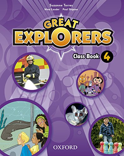 Great explorers 4: class book pack